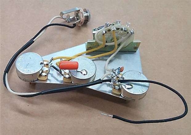 Atlantic Custom Guitars Premium Wiring Harness For