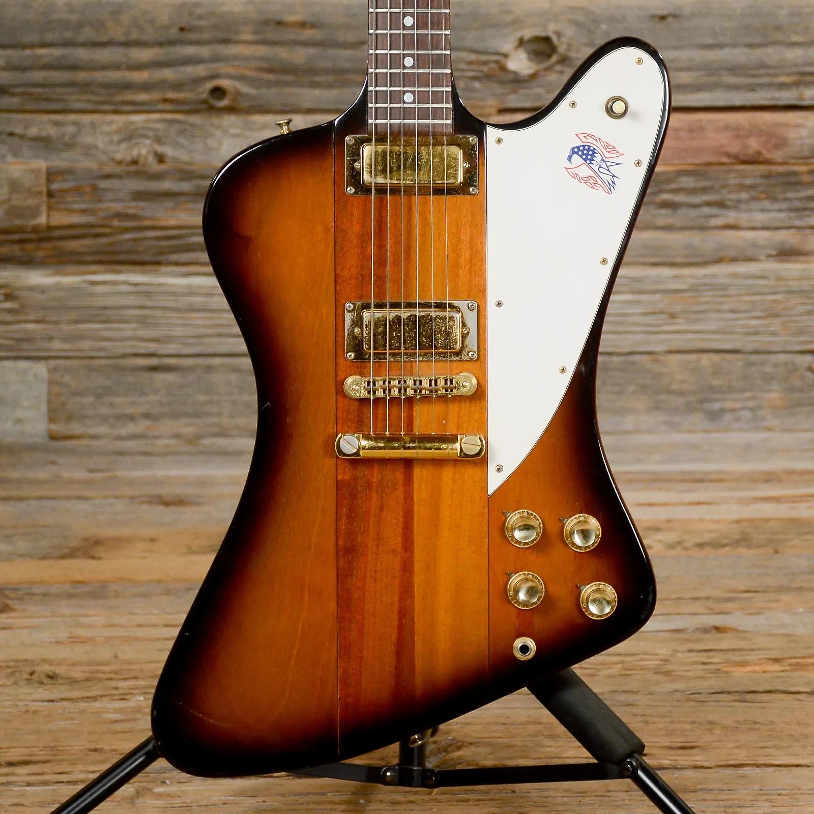 Gibson Firebird 76 Bicentennial Sunburst