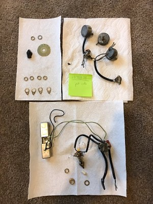 Gibson Vintage ES345 wiring harness & varitone parts   Reverb