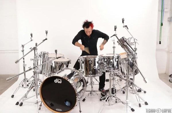 DW Collectors Series 12 Piece Maple Drum Set Kit Roy ...