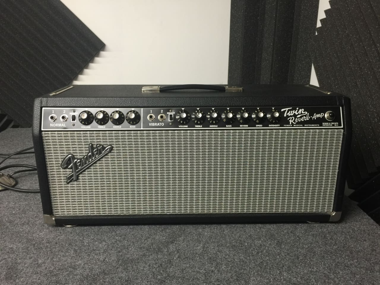Fender Twin Reverb Head Very Rare And Sounds Amazing Might