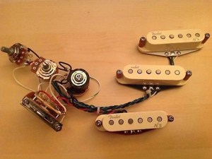 Fender N3 Noiseless Strat Pickup Set with S1 Switch & | Reverb