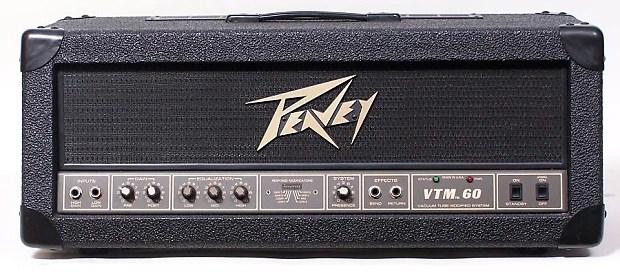 Peavey Vtm 60 Amp Head Usa Made 6l6 Tubes Vintage