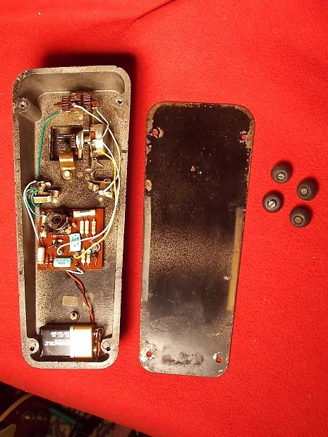 Vox Clyde Mccoy Script Wah Wah Pedal Italy Halo