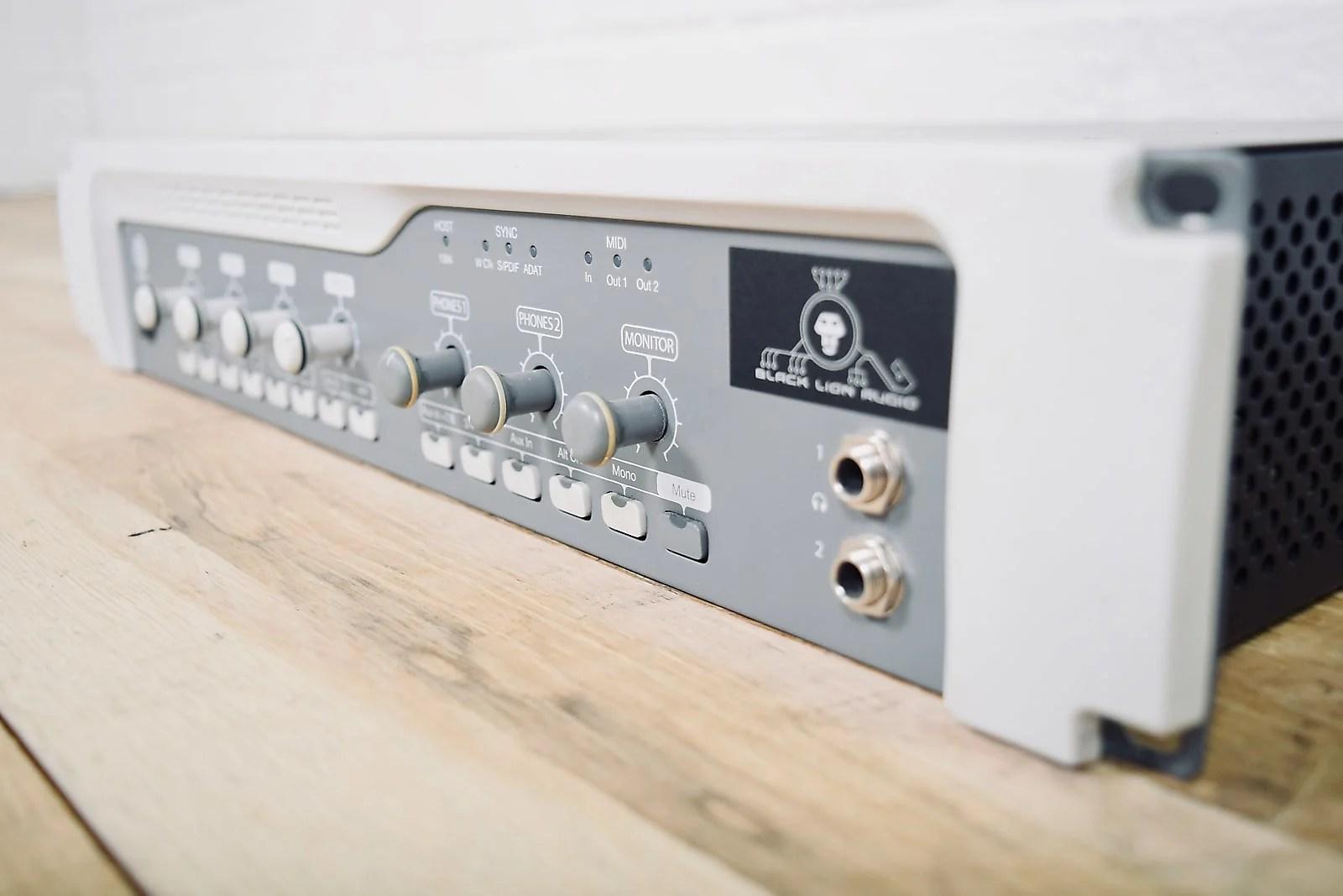 digidesign digi 003 rack with black lion audio signature mod excellent bla unit