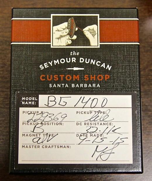 Seymour Duncan Custom Shop BG 1400 Tele Lead Pickup 31.9K ...
