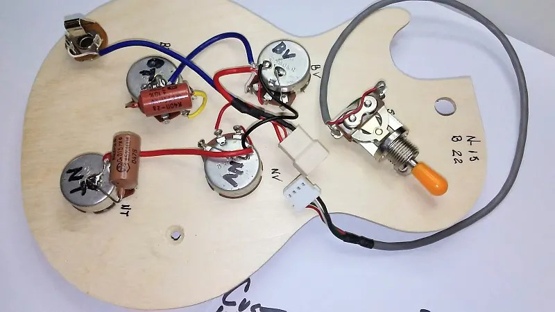 Wiring Harness Upgrade For Epiphone LP,SG,ES-335 & Dot
