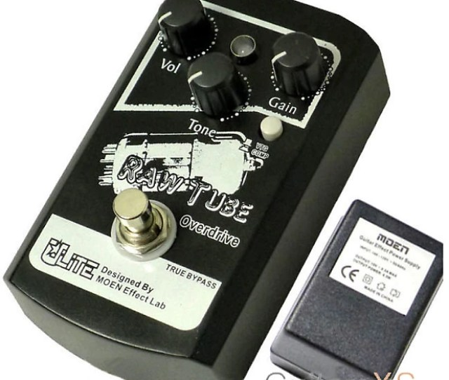 Moen Ul Td Raw Tube Overdrive Real Tube Inside Guitar Pedal True Bypass Superb Quality Ships Free