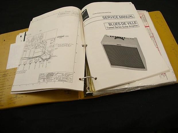 Fender Princeton Reverb Schematic
