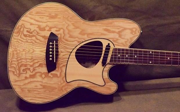 Ibanez Tcm50 Talman Acoustic Electric Guitar Natural