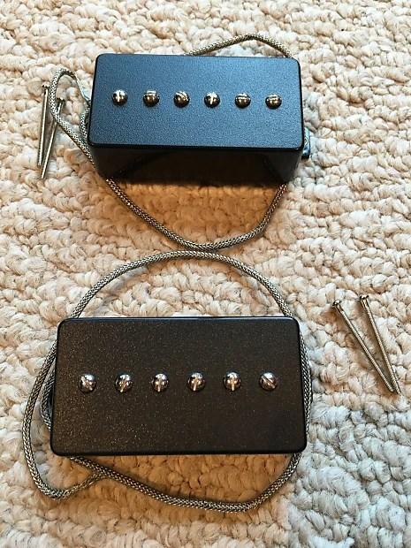 BG-Pups Pure90 Set (Black) - The Best Humbucker-Sized P90 ...