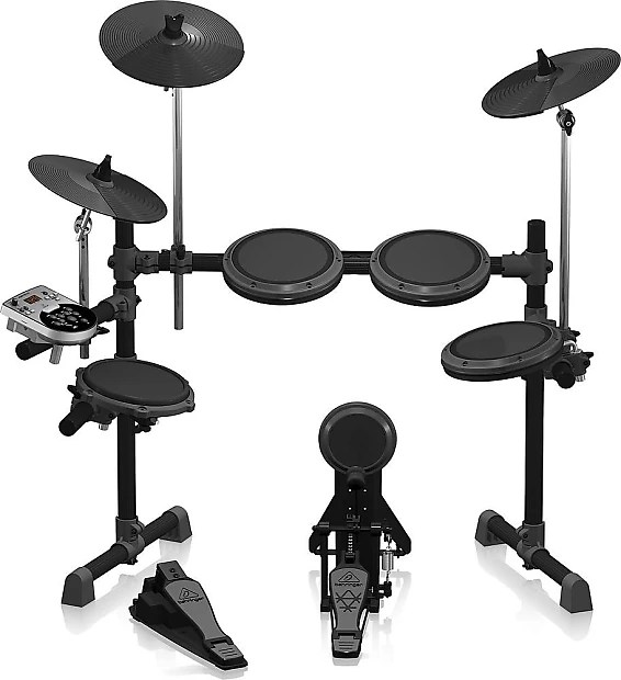 Behringer XD8 USB 8 Piece Electronic Drum Set   Reverb Behringer XD8 USB 8 Piece Electronic Drum Set
