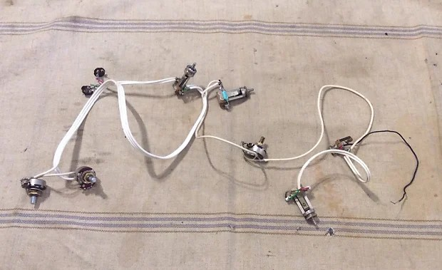 gretsch wiring harness 19651968 for country  gentleman6120falcontennessean
