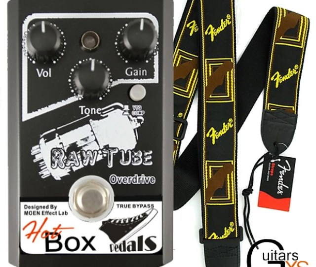 Hot Box Pedals Canada Hb Td Raw Tube Overdrive Analog Guitar Effect Pedal True Bypass Superb Quality