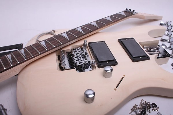 BYOGuitar Unfinished Electric Guitar Kit - JS Style | Reverb
