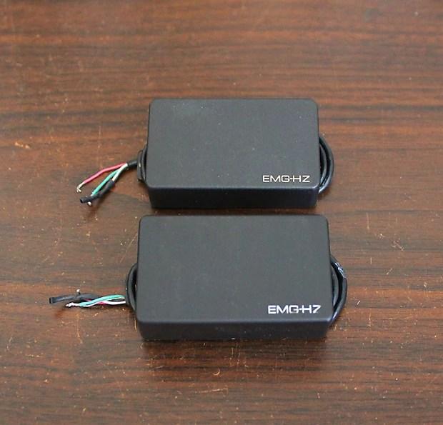 Emg Hz H4 Amp H4a Passive Pickup Set Black