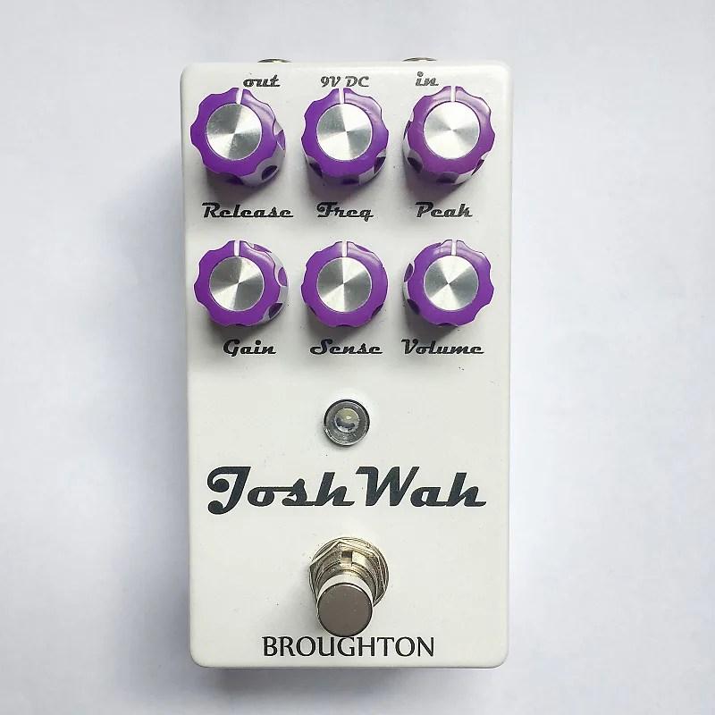 Broughton Audio Josh Wah Envelope Filter / Bass Fuzz | | Reverb