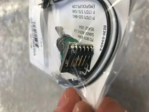 EMG B354 On / Off Solderless Toggle Switch 2 Position