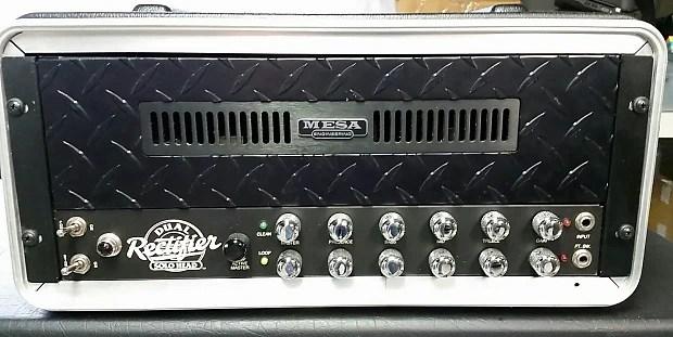 Rare Mesa Boogie Dual Rectifier Solo Head Rack Mount
