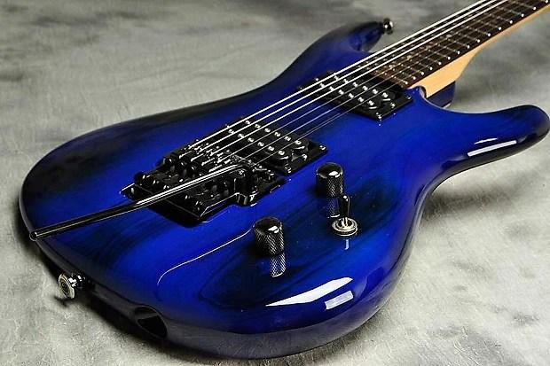 Ibanez Js Joe Satriani Signature Burnt Blue