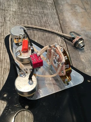 David Gilmour The Black Strat Wiring Harness Stratocaster
