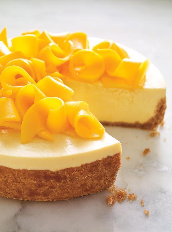 Mango Yogurt Mousse Cake   Ricardo