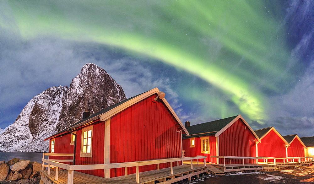 Stock Landscape photo: Aurora Borealis Norway