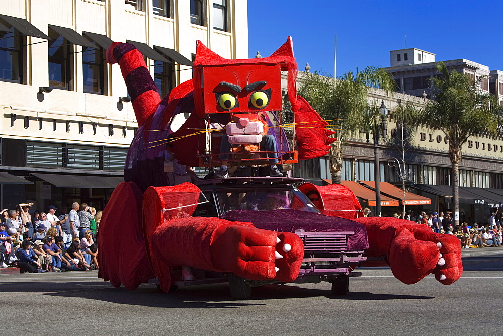 Stock photo of the Doo Dah Parade in Pasadena, California