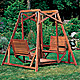New Yankee Workshop Garden Swing Plan and VHS Video