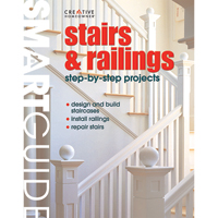 Stairs and Railings Step-by-Step Projects Book