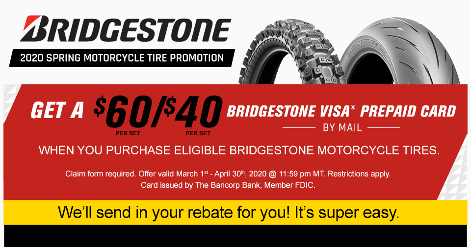 bridgestone tires rebate