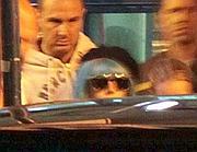 Lady Gaga all'arrivo a Fiumicino (foto Ansa)