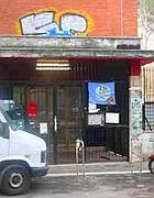 L'ingresso dell'ex scuola Giorgi (Russo)