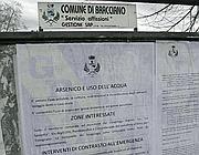 L'ordinanza che vieta il consumo di acqua dell'acquedotto pubblico a Bracciano (Proto)