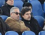 Il vero volto di Adnan Adel Aref al Qaddumi al Shtewi, qui all'Olimpico con Michele Padovano (Gmt/Mezzelani)
