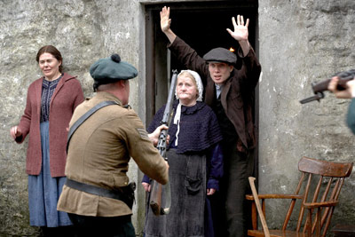 Cillian Murphy, Liam Cunningham, William Ruane, Ken Loach