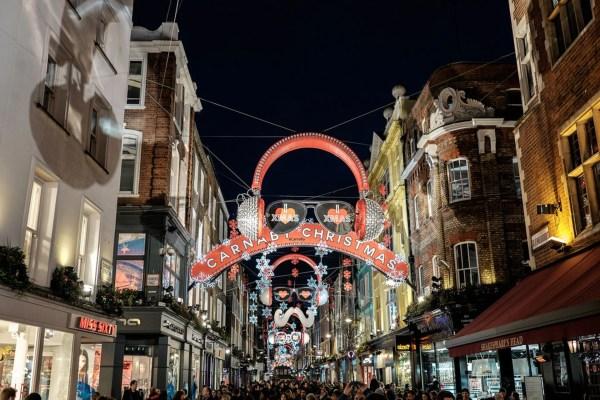 christmas lights london 2019 # 73