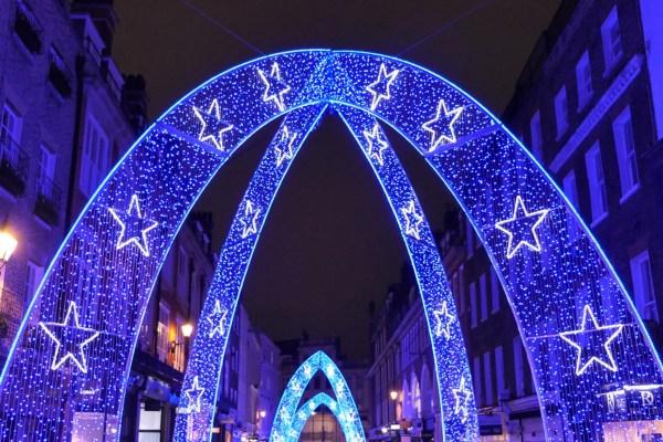 christmas lights london 2019 # 18