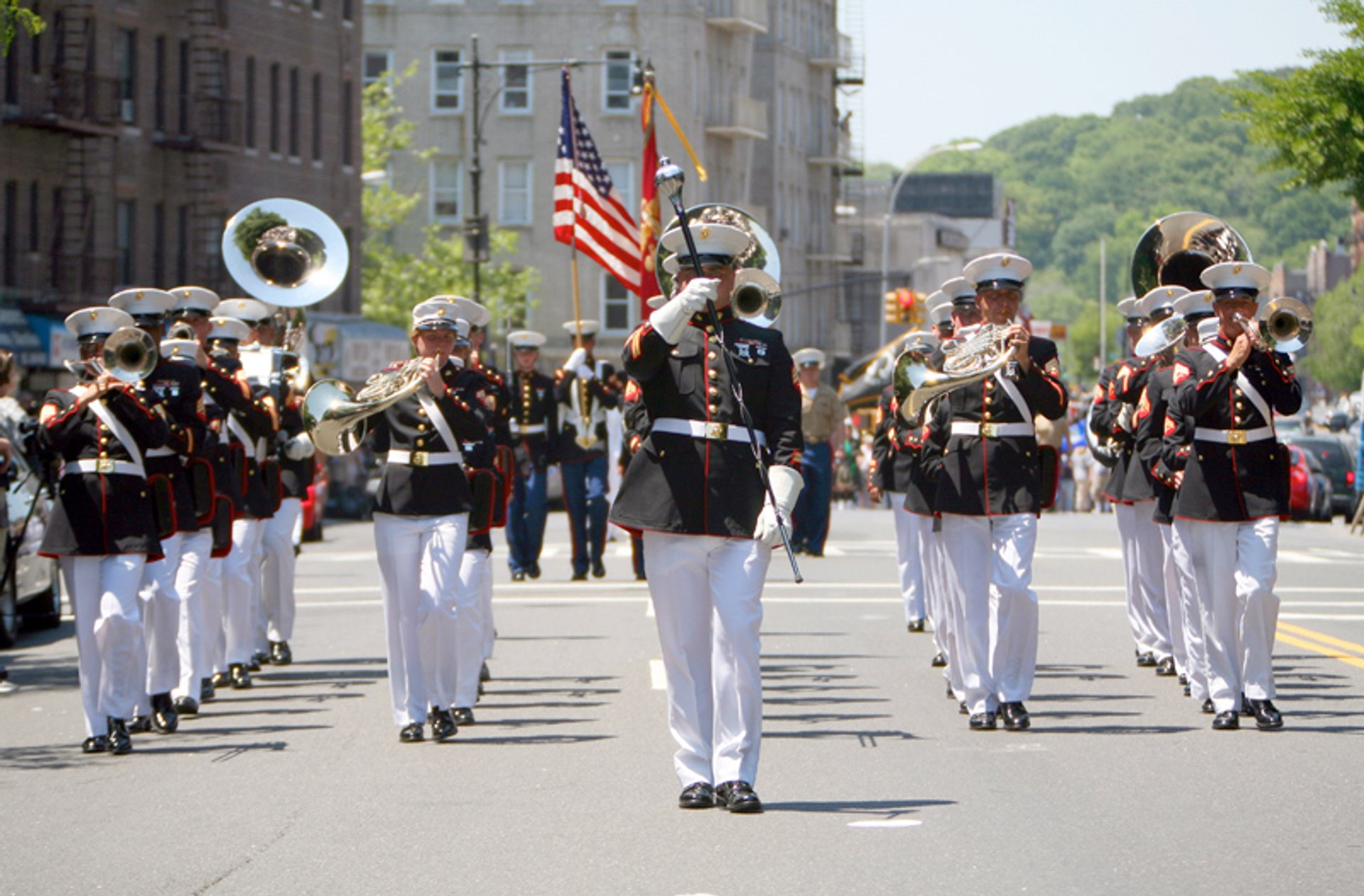 Memorial Day Parade In New York