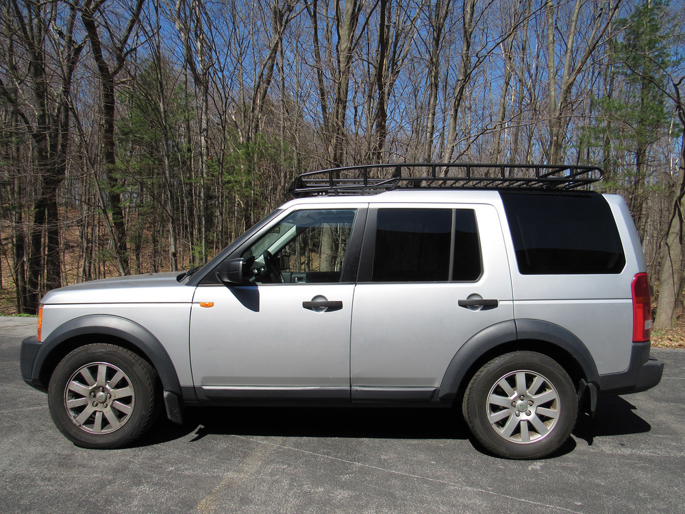 lr3 lr4 roof rack bajarack for rovers with factory roof rails