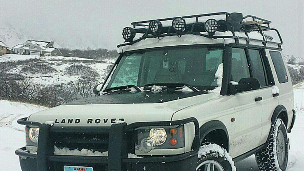 overland roof rack standard height by voyager offroad for land rover discovery series ii