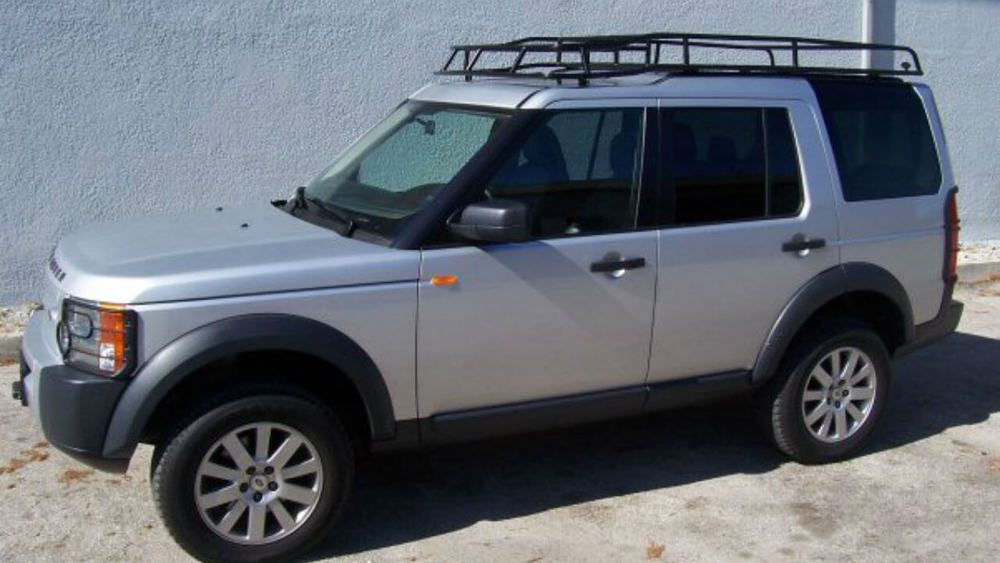 overland roof rack standard height by voyager offroad for land rover lr3 and lr4