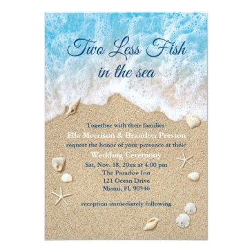 Fishing Wedding Invitations Up To 40