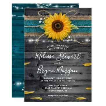 Turquoise Wedding Invitations Up To