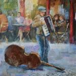Paris Cafe Painting By Nataliya Shlomenko Saatchi Art