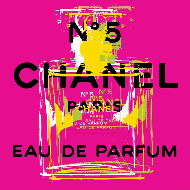 chanel no 5 pop art limited edition of 5 artwork