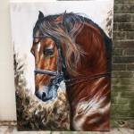 Horse Art Horse Head Painting Oil Painting On Canvas Painting By Caroline Towning Saatchi Art