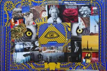 Conspiracy Collage For Sale | Saatchi Art