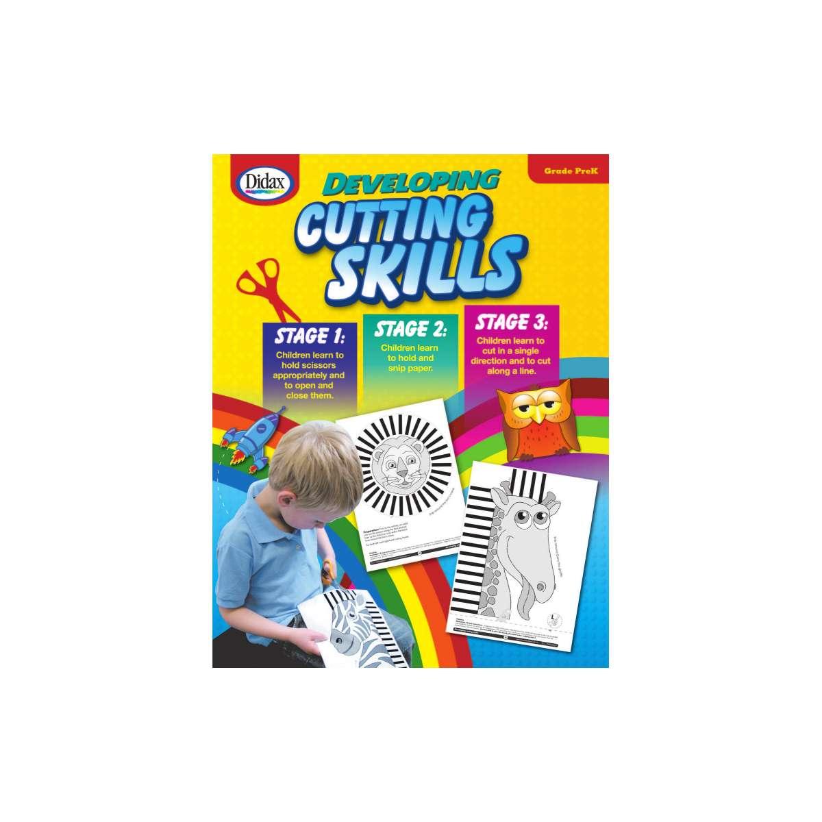 Developing Cutting Skills Early Years Dd
