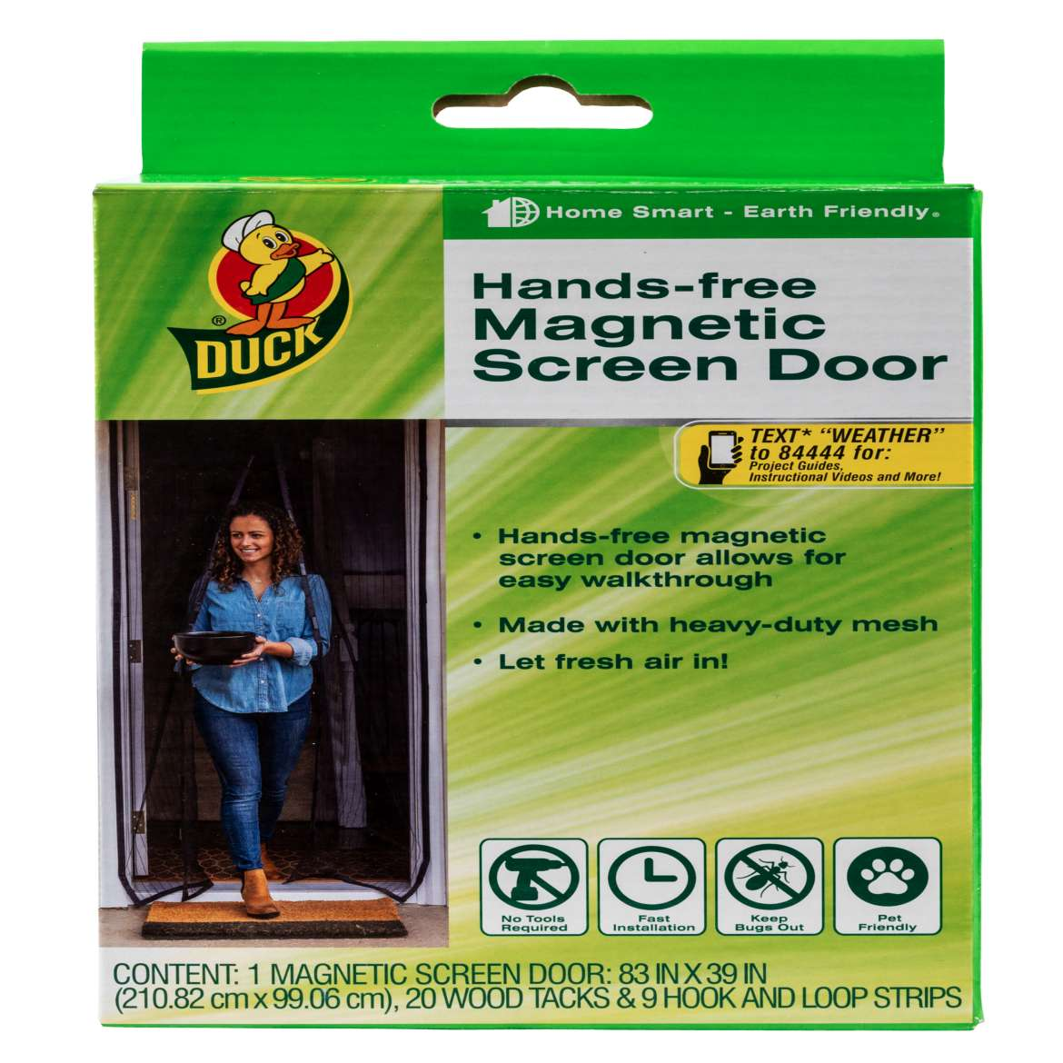 Magnetic Screen Doors